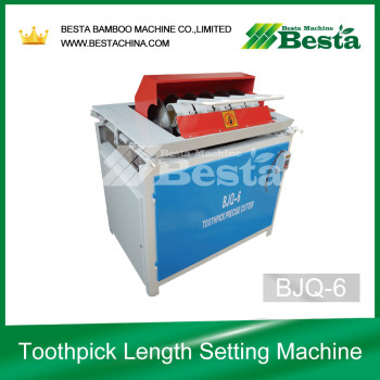 BJQ-6 Toothpick Length Setting Machine, Toothpick Making Machines