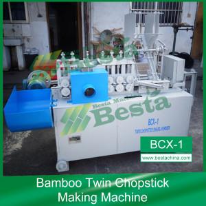 Bamboo Twin Chopstick Making Machine (Production Line) BCX-1