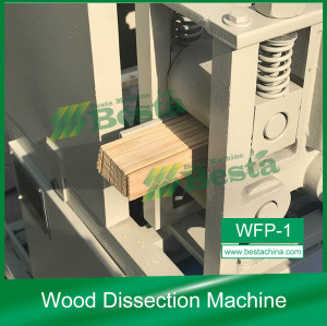 WFP-1 Wood Dissection Machine, Wooden Toothpick Machine