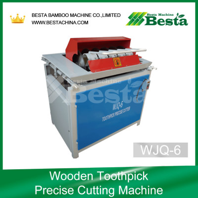 Wooden toothpick Precise Cutting Machine, Toothpick Making Machine