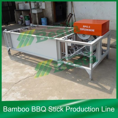 Bamboo Stick Machines, Bamboo Stick Polishing Machine (BPG-3)