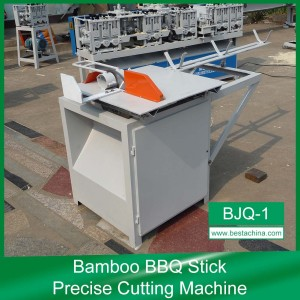 Bamboo Stick Length Setting Machine (BJQ-1), bbq stick machine