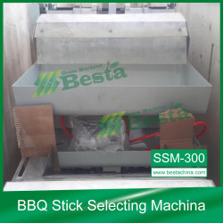 BBQ STICK  quality control machine, selecting machine
