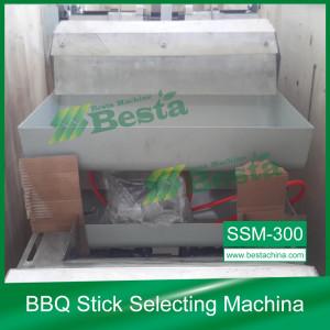 BBQ STICK  quality control machine, selecting machine