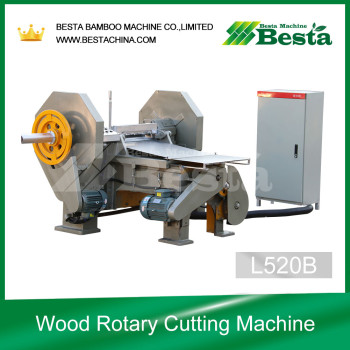L520B Wooden Veneer Making Machine, Tongue depressor stick machine