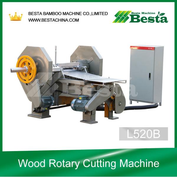 máquina de corte rotativa de madera