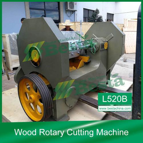 Madera Rotary máquina de corte