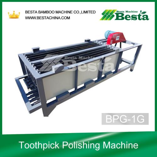 Máquinas de palillo de bambú, máquina pulidora de palillo