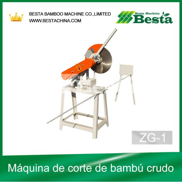 sierra de bambú, de bambú de la máquina de corte. (ZG-1)