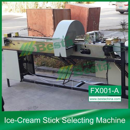 Máquina de selección de palitos de helado (Control de calidad)