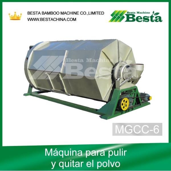 Máquina para pulir y quitar el polvo