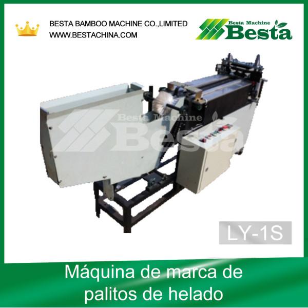 Máquina de marca de palitos de helado, máquina de impresión de logotipos (LY-1)