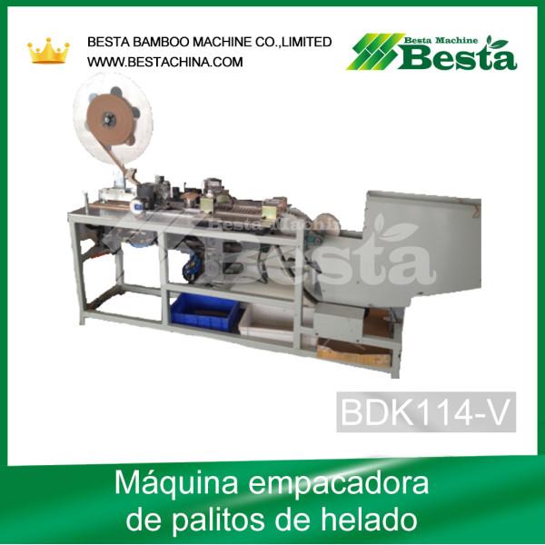 Máquina empacadora de helados BDK114
