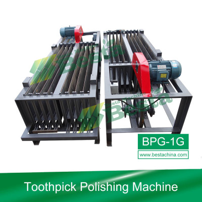 Bamboo Toothpick Machines, Toothpick Polishing Machine