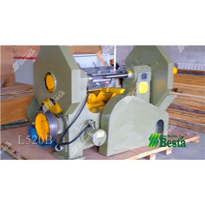 L520B Wood Rotary Cutting Machine, wood coffee stirring stick making