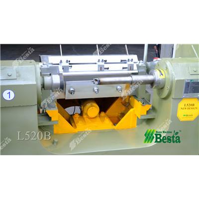 L520B Wood Rotary Cutting Machine, wood ice spoon making