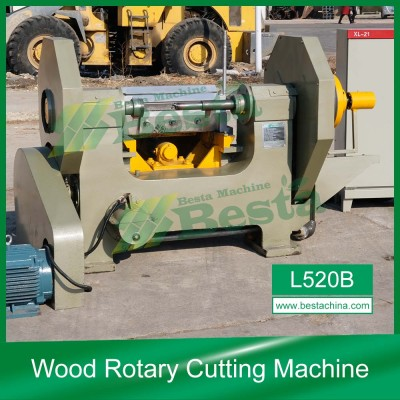 L520B Wood Rotary Cutting Machine,Quality ice cream stick Making Machine Supplier