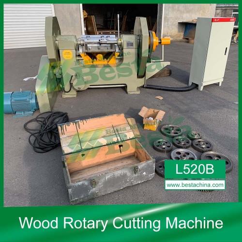L520B Wood Rotary Cutting Machine, Wooden Ice Cream Stick Machine