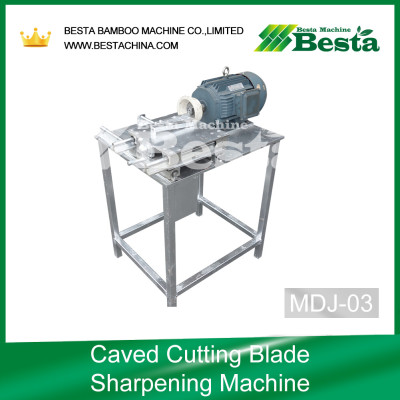 Caved Cutting Blade Sharpening Machine,Ice cream stick making machine