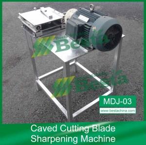 Caved Cutting Blade Sharpening Machine,Ice cream stick making machine