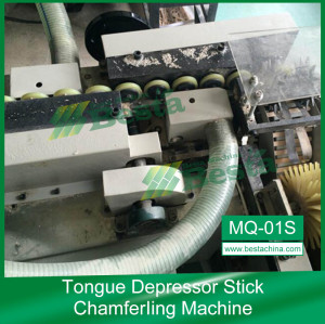 Stick Chamfering Machine,Ice cream stick making machine