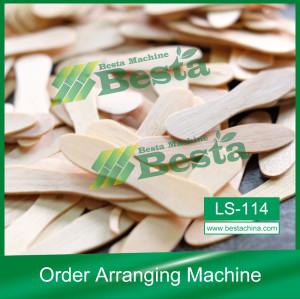 Wooden Ice Cream Stick Order Arranging Machine,Ice cream stick making machine