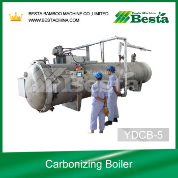 Carboinzing Boiler, Strand Woven Flooring Making Machine