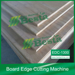 Board Edge Cutting Machine, Strand Woven Flooring Making Machine