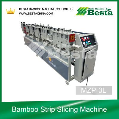 16.8 KW Bamboo strip slicing machine, bamboo strip processing machine