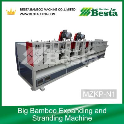 Bamboo Expanding and Stranding Machine,strand woven flooring machine