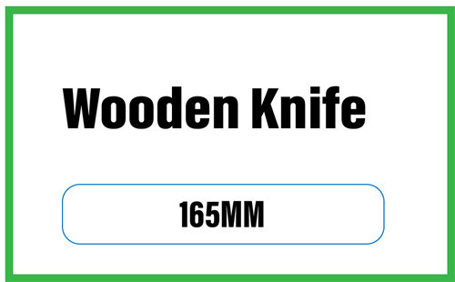 wooden knife product