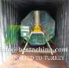 Wooden ice cream stick making machine exported to Turkey