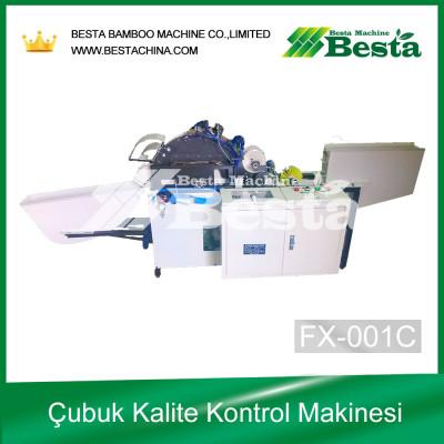 Çubuk Kalite Kontrol Makinesi, Dondurma çubuğu makinesi