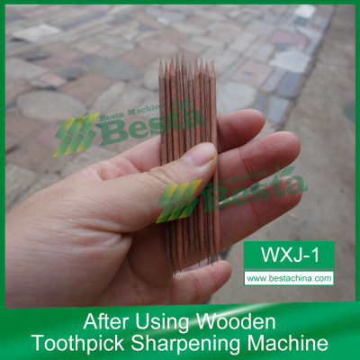 Wooden Toothpick Machineries, Wooden Toothpick Machine (whole set)