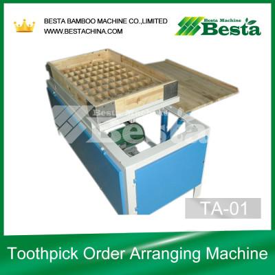 Wooden Toothpick Order Arranging Machine