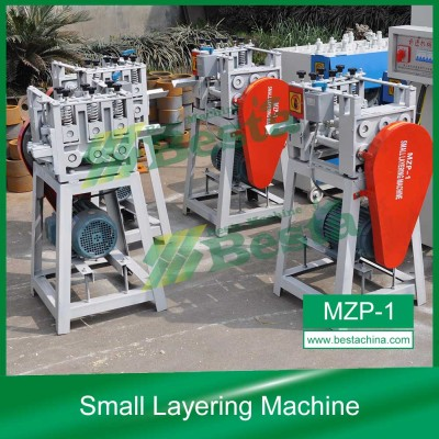 Small Layering Machine,Bamboo Toothpick Machine