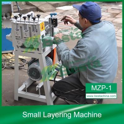 Small Layering Machine,Bamboo Toothpick Machine, BAMBOO STRIP MACHINE