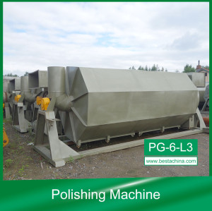 PG-6-L3 Ice cream stick polishing machine (Latest Design)