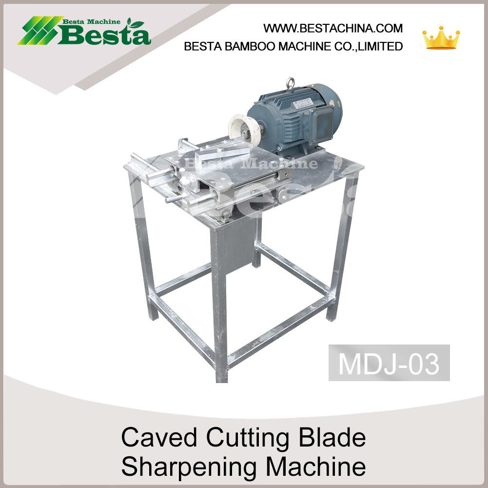 carved cutting blade sharpening machine