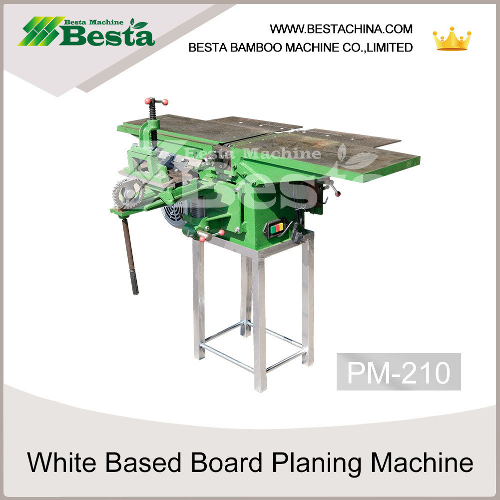 white based board planing machine