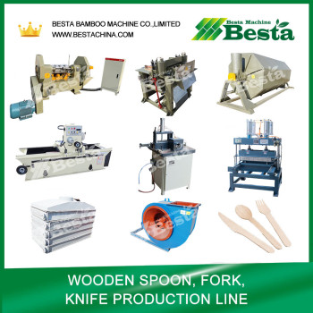 Disposable Wooden Spoon Making Production Line