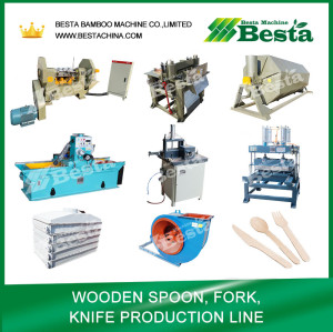 Wooden Spoon Making Machine Complete Line