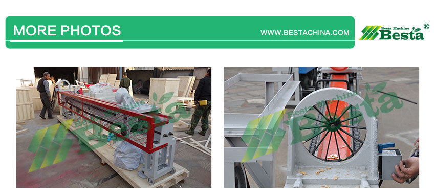 Bamboo Splitting machine delivery