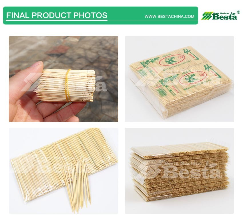 Bamboo toothpick products