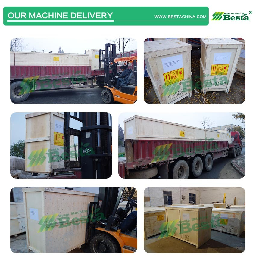 Our machine delivery