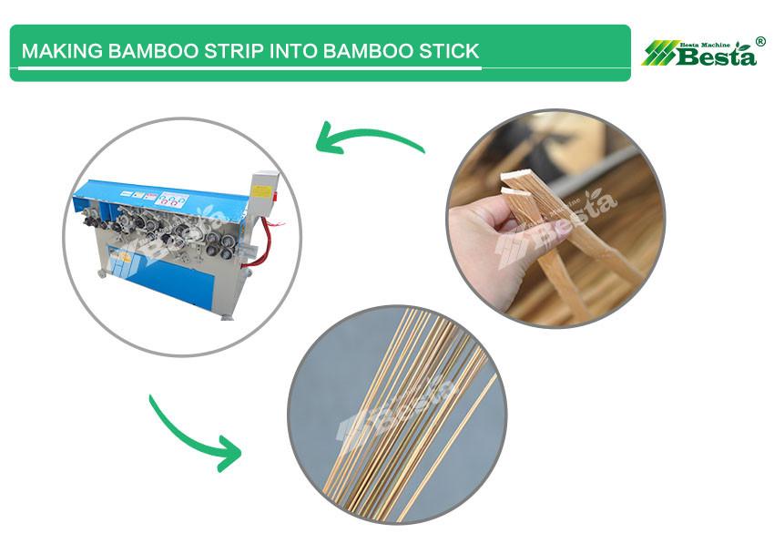 BAMBOO STICK MAKING MACHINE 1