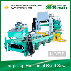 MG377 Large Log Horizontal Band Saw