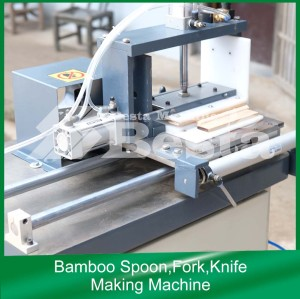 Bamboo Spoon, fork, knife making machine