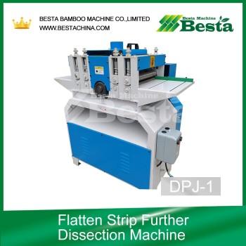 Flatten Strip Further Dissection Machine