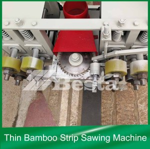 Thin Bamboo Strip Sawing Machine